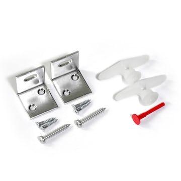 パネルミラー用L字固定金具 (2個/1セット) ※トグラーアンカー付き